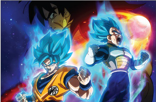 Dragonball Super Broly film UK screenings