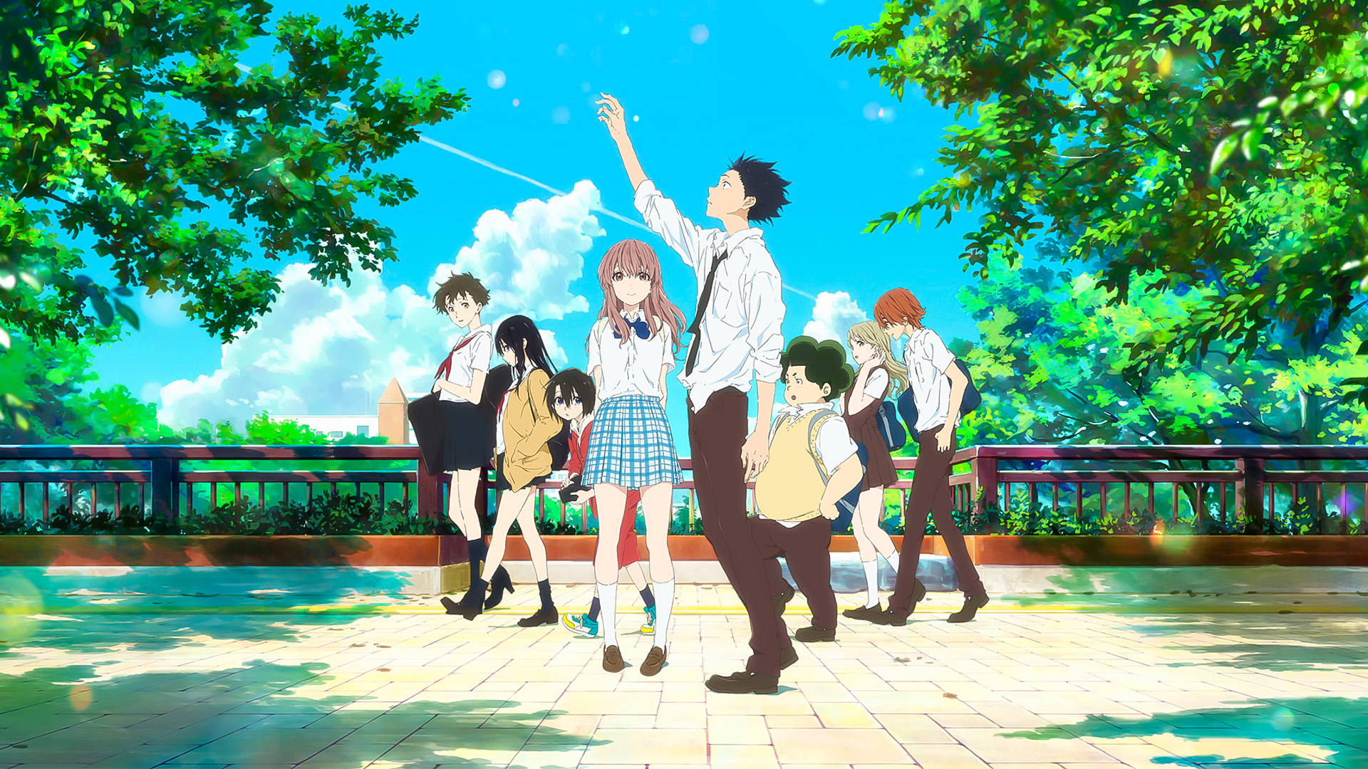UK Anime Network - News - A Silent Voice UK Home Video ...