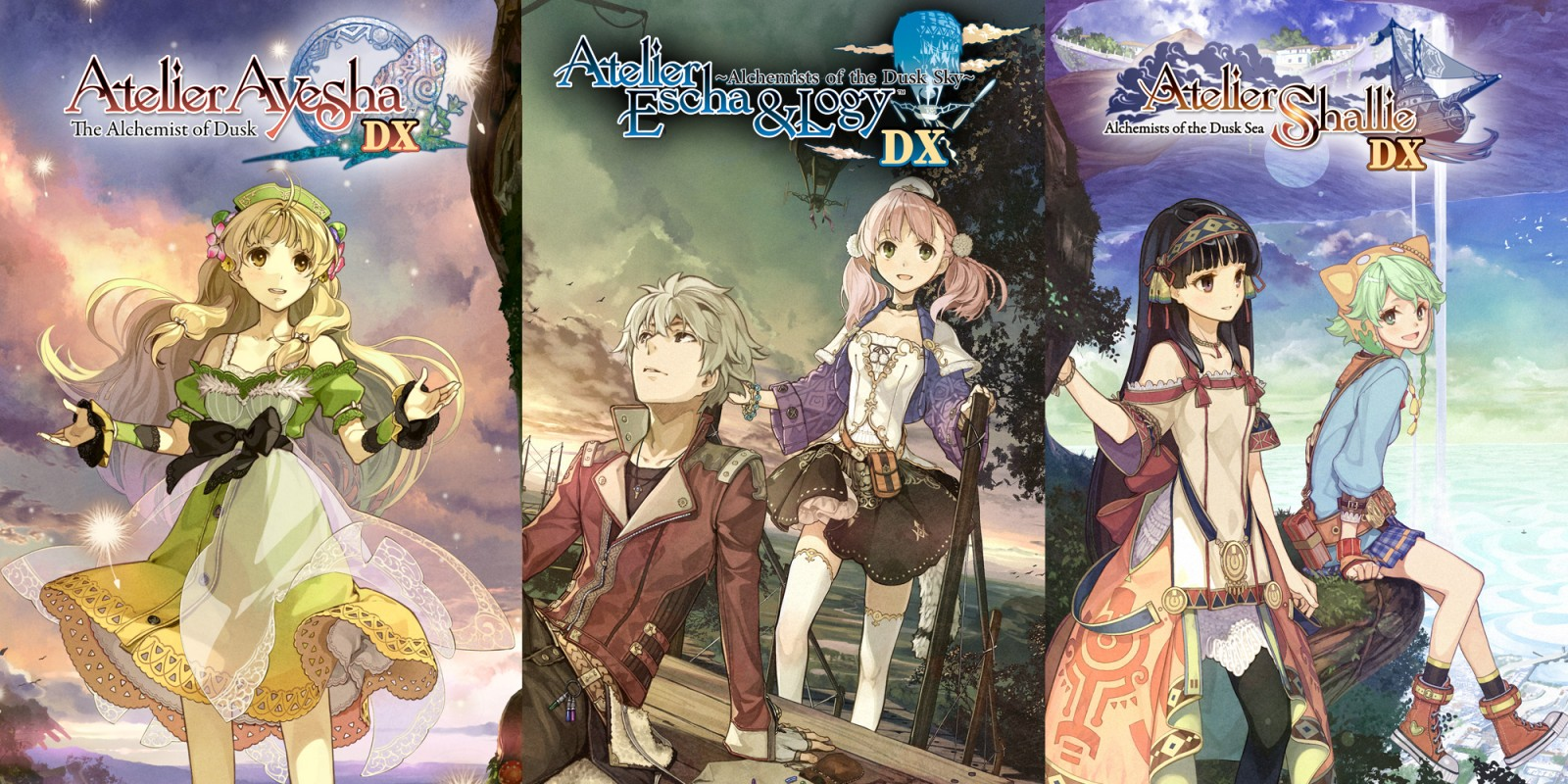 Atelier Dusk Trilogy Deluxe Pack (Playstation 4)