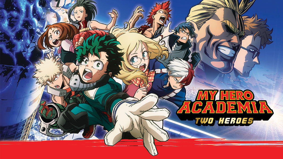 My Hero Academia: Two Heroes coming April 2019
