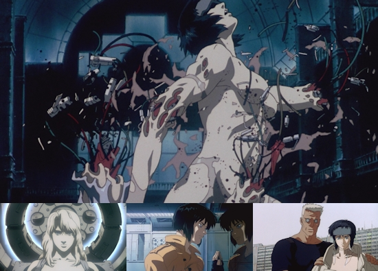 UK Anime Network - Anime - Ghost in the Shell (Blu-ray ... Призрак Фильм 1990