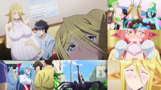 Monster Musume: Everyday Life With Monster Girls - Eps. 5-12