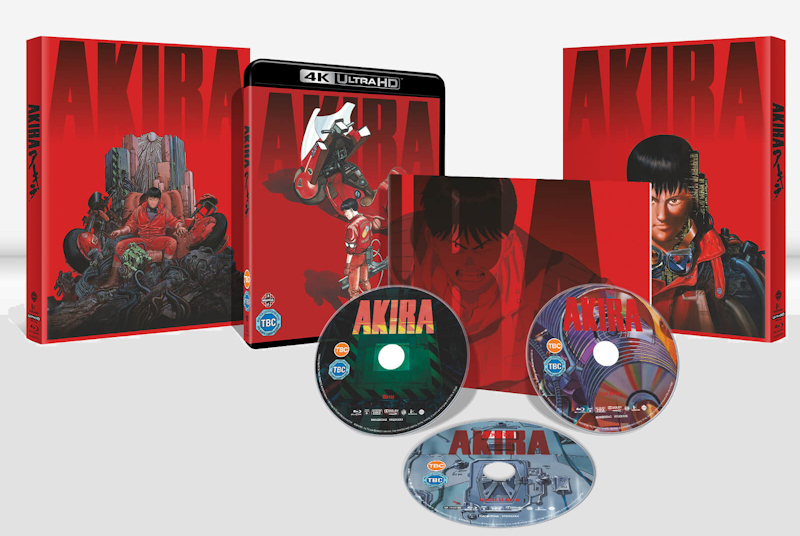 Akira 4K Home Release lands on November 30th