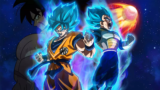Dragon Ball Super Broly breaks 1 million at the UK box office
