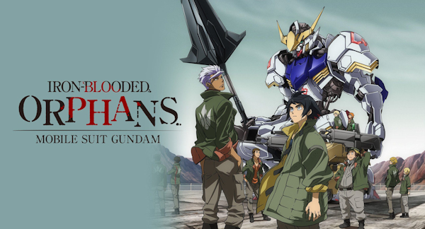 Mobile Suit Gundam: Iron Blooded Orphans arrives on Netflix