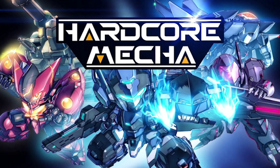 Hardcore Mecha Steam Page Live