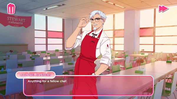 UK games studio Psyop creates KFC Dating Sim