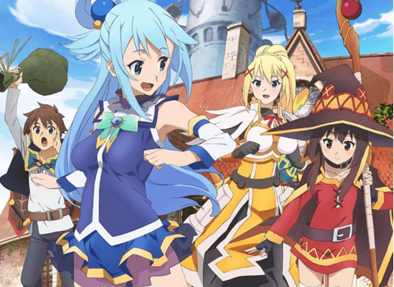 Konosuba series coming from Anime Ltd