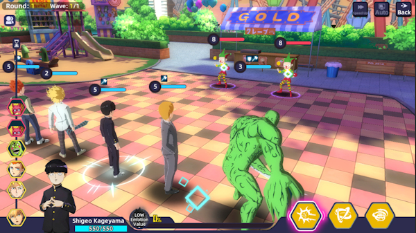 Mob Psycho 100: Psychic Battle mobile game coming from Crunchyroll