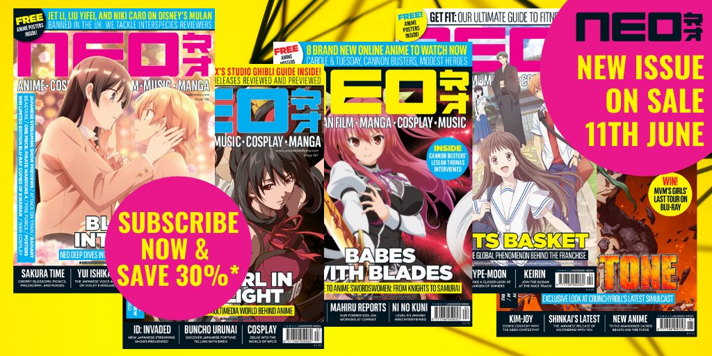 NEO Magazine returns on June 11th