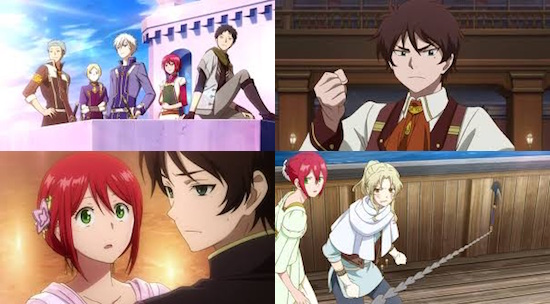 Uk Anime Network Anime Snow White With The Red Hair