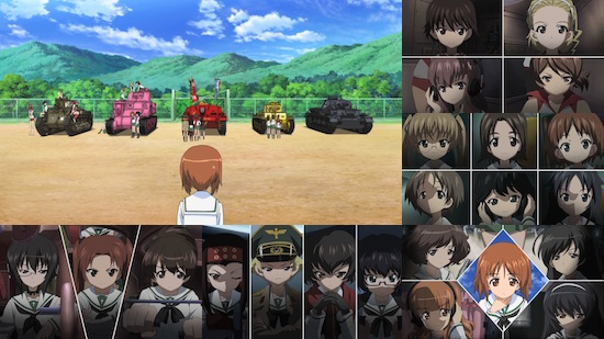 Girls und Panzer - Complete TV Series Collection