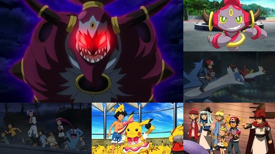Uk Anime Network Anime Pokemon The Movie Hoopa And The Clash