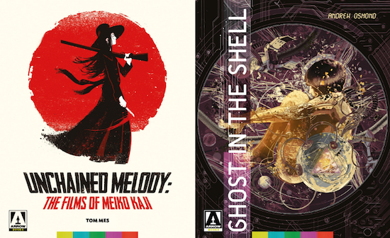 Arrow Video Books - Ghost in the Shell and Unchained Melody