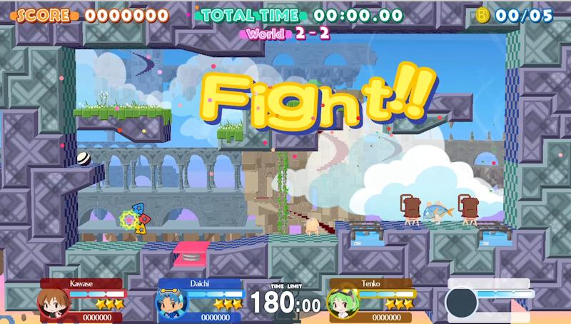 Single Screen Arcade Gameplay