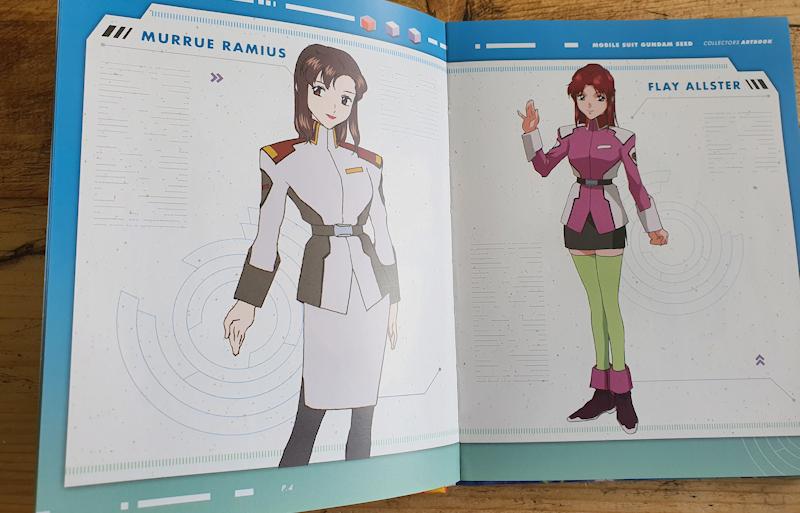 Gundam SEED Complete Edition Artbook
