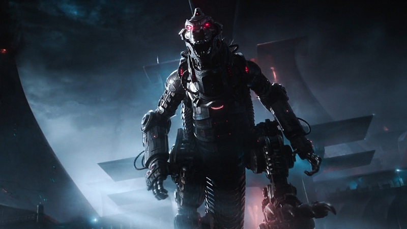 Mecha Godzilla in Ready Player One