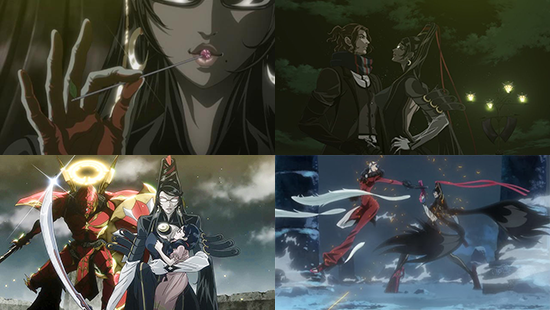 Uk Anime Network Anime Bayonetta Bloody Fate