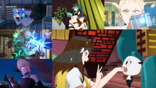 Gatchaman Crowds - Eps. 1-4