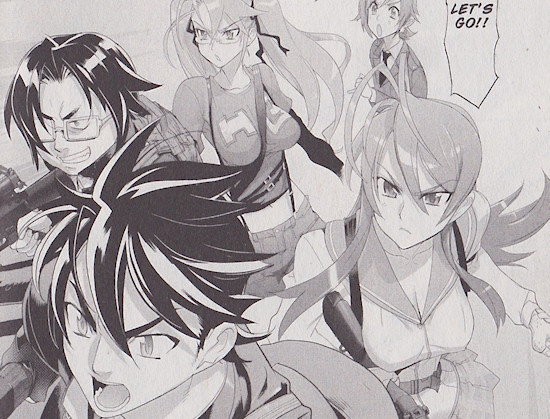 Highschool of the Dead Vol. 6