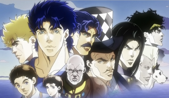 Jojo's Bizarre Adventure Season 1 Blu-ray (Episodes 1-26)