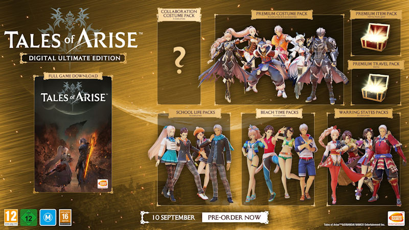 Tales of ARISE Ultimate