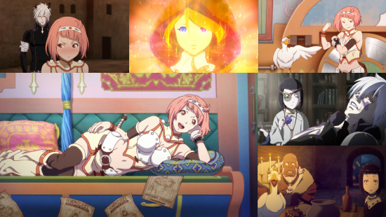 Rage of Bahamut: Virgin Soul - Eps. 1-3
