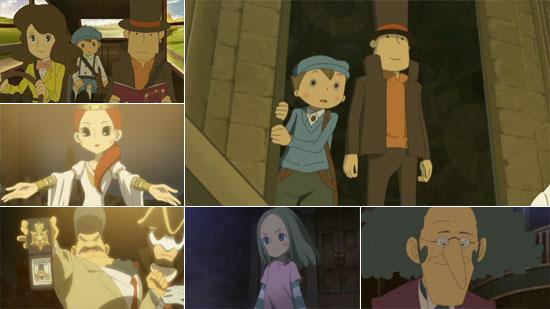 Uk Anime Network Anime Professor Layton And The Eternal Diva Dvd
